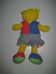 Funtime márkájú Tanuljunk öltözni! színes plüss mackó