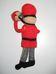 Doboló figura egyenruhában