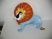 Interaktív plüss oroszlán a Tinga Tinga Tales című meséből