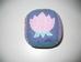 Puha textil színes babakocka kék lila alappal