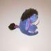 Mini plüss ülő Füles figura