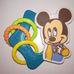 Mickey egér figurás rágókás csörgő