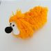Horgolt nagy orrú sárga pulikutya