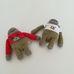 2 darabos horgolt majom csomag