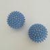 2 db kék színű műanyag tüske labda