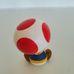 Műanyag Super Mario figura Nintendo Toad gomba