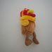 Interaktív kukorékoló plüss sárgásbarna kiskakas