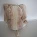 Prémium minőségű csillogó szőrű plüss elefánt