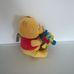 Disney Baby csörgő zörgő Micimackó figura virággal