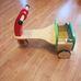 ELC Wooden trike fa tricikli doboz nélkül