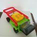 ELC zöld műanyag játék fűnyíró