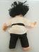 Mieler Dolls ázsiai baba feketeöves karate ruhában
