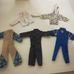 Action Man figurákra való overálos ruházati szett