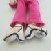 Groovy Chick tapadókorongos baba rózsaszín ruhában
