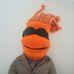 Trebellos Teddy WOP öltönyös napszemüveges plüss karakter