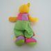 Funtime márkájú Tanuljunk öltözni! színes plüss maci