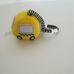 Mamas & Papas babakocsira köthető mini sárga taxi