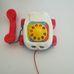 Fisher Price húzható fecsegő telefon