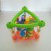 Funtime többfunkciós tanuló háromszög csörgő bébijáték