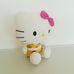 Plüss Hello Kitty figura virágos ruhában