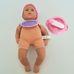 Zapf Creation kék szemű csecsemő baba kiegészítőkkel