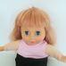 Hosszú vöröses szőke hajú puha testű lengyel nyelvű baba
