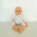 Bayer puha törzsű kék szemű csecsemő baba