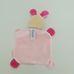 Rossmann Babydream rózsaszín nyuszis plüss szundikendő