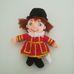 Disney Small World kollekcióból England Boy plüss figura