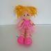 ELC rózsaszín ruhás tüllszoknyás balerina baba