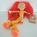 Rainbow Kidz Lovely Lipz AMBER narancssárga rongybaba