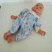 Retro Götz Cookie alvós csecsemő baba