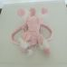 Rózsaszín csillámpóni kézitáska kislányoknak
