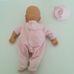 Zapf My little Baby Born fürdethető csecsemő baba rózsaszín