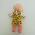 Interaktív szőke kislány baba sárga ruhácskában