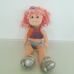 Beanie Boppers Precious Pammy baba rózsaszín hajjal