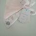 Mothercare rózsaszín nyuszikás szundikendő virágmintával