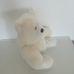 Hófehér pihepuha plüss maci