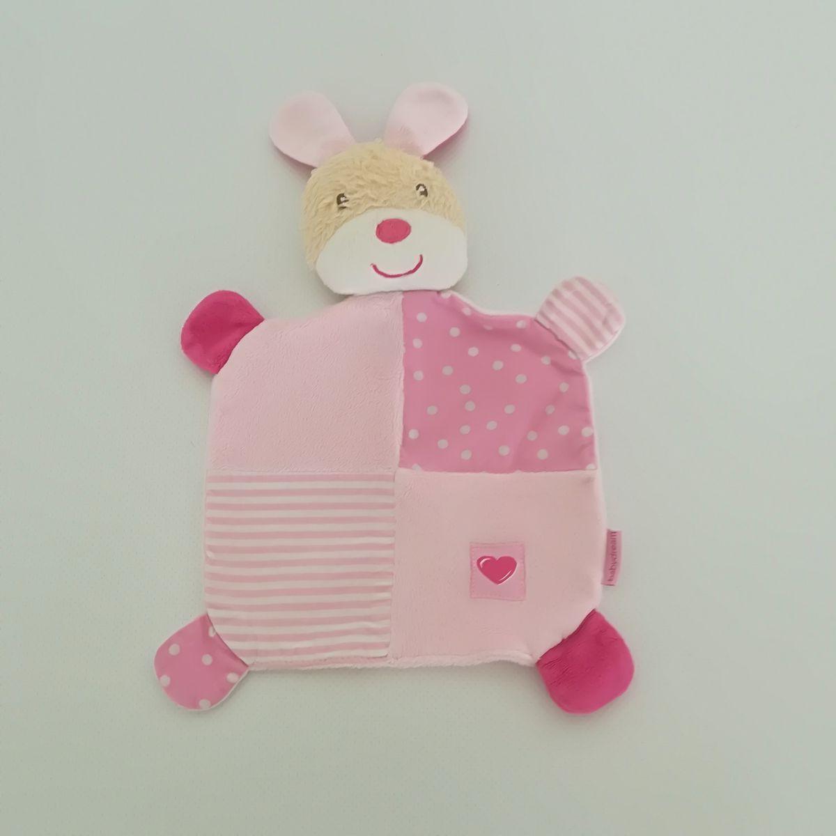... Rossmann Babydream rózsaszín nyuszis plüss szundikendő ... aca9d80fbc