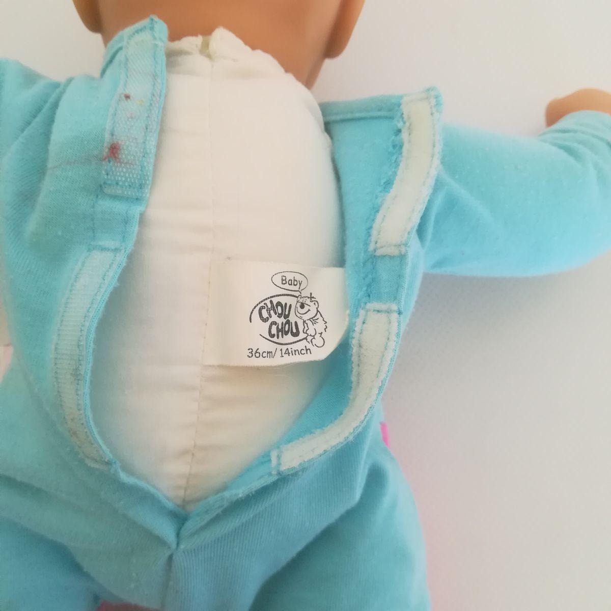 ... Zapf Baby Chou Chou csecsemő baba eredeti rugdalózójában ... 05566c322d