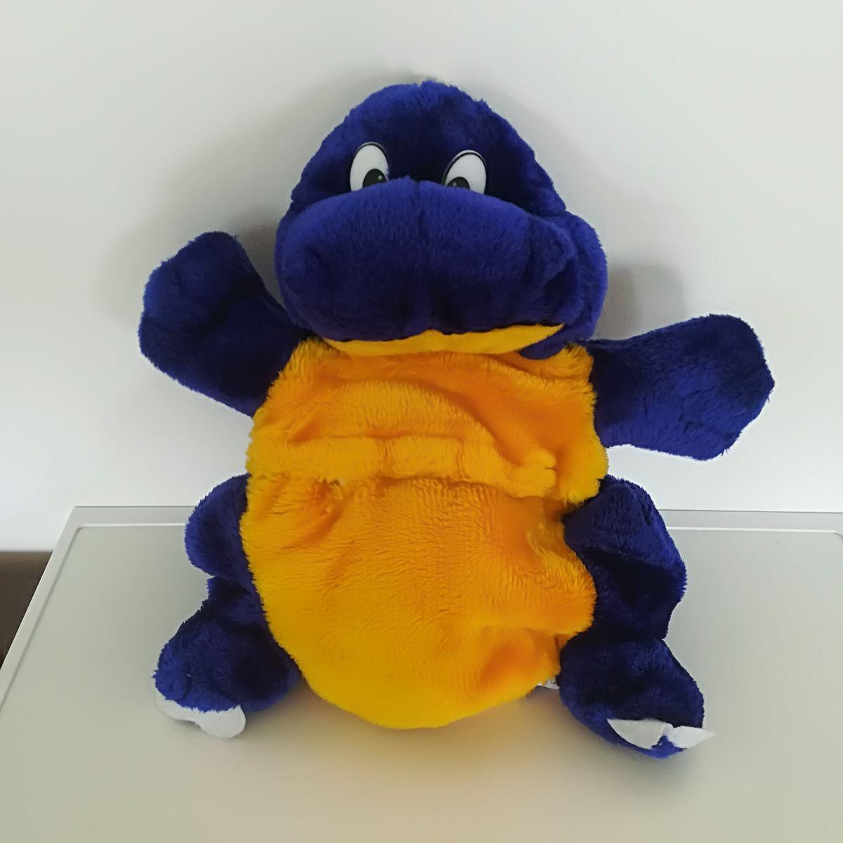... Kék sárga pakolható pocakú plüss dínó párna ... b182a2dacd